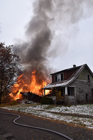 Detroit, MI.  Brush & E. Arizona 11-09-18 Box Alarm