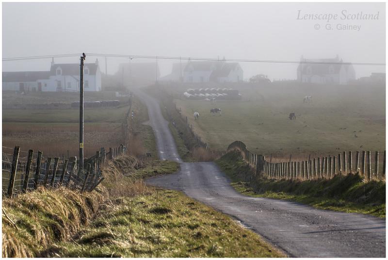 Houses in the mist, Balephuill