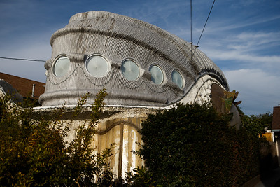 Unusual houses in the bay area
