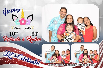 Mikaela and Reuben's Birthday