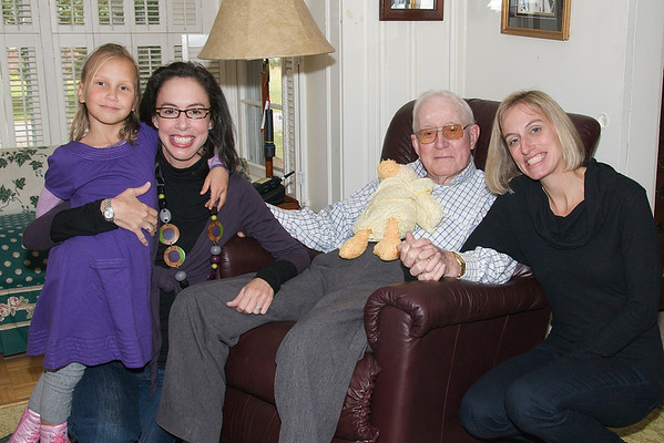 October 2009 - Daddy's 92nd Birthday Party