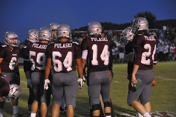 Pulaski Russell Co. football