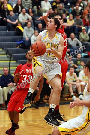2010 12 10 Clarkston Varsity Basketball vs Orchard Lake St. Marys