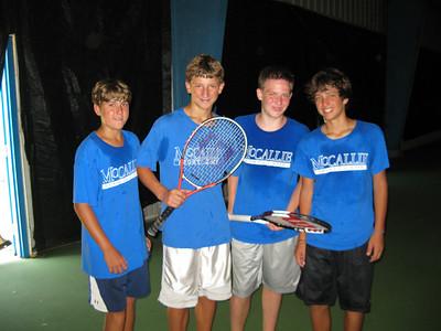 2009 MSC 2- Tennis Tournament