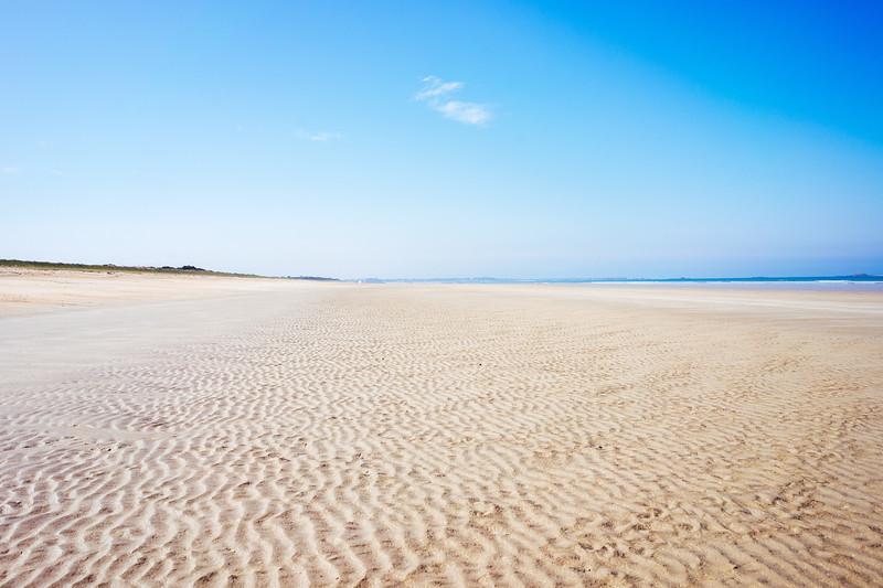 Beach on the road to Quiberon