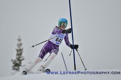 CNISSF Alpine Ski State Championships 2014 Slalom