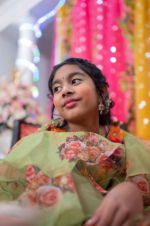 Sahasra's Mehendi And Sangeet