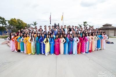 2016 UVSA Tet Festival Staff Photoshoot