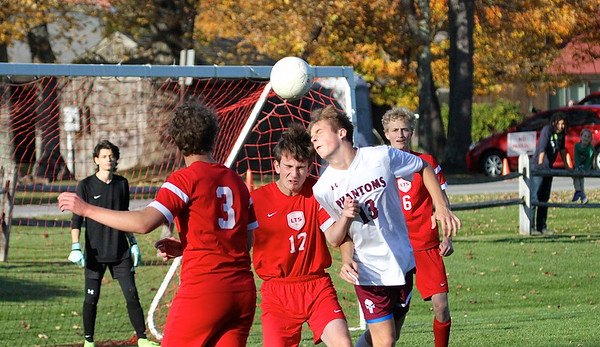 LTS Varsity Boys Soccer vs Proctor photos by Gary Baker