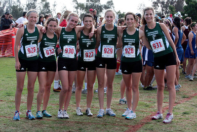 2009 CIF XC D4 Girls Finals