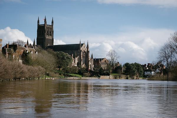 Worcester Floods 2020