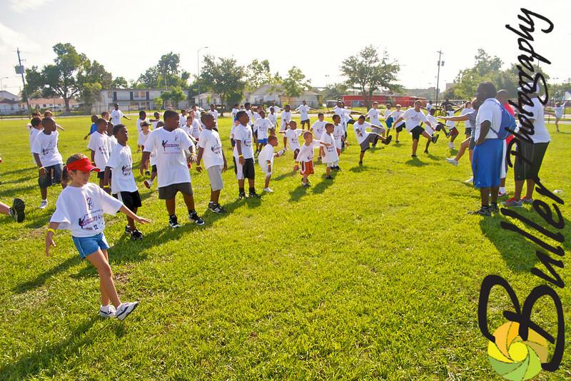 2010 - Amobi Okoye's Youth Football Camp & Celebrity Basketball Game