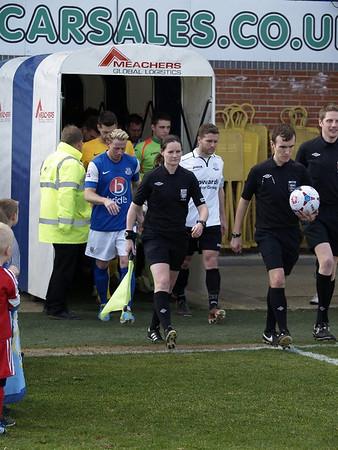 Eastleigh (3) v Weston Super Mare (1) 1.3.2014