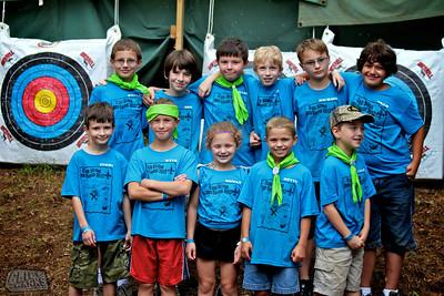 Cub Scout Camp 2012