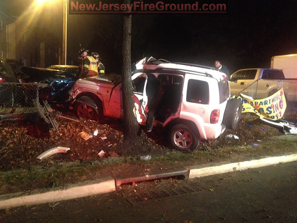 11-27-2014(Camden County)COLLINGSWOOD Rt. 130 M.V.A Rescue