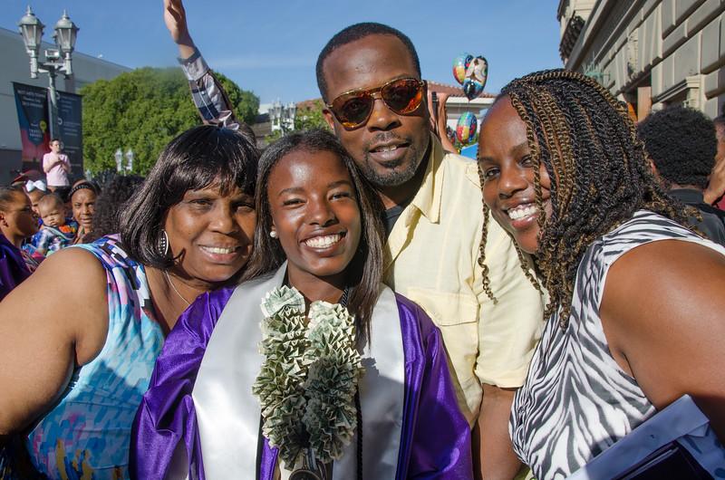Tonita (Nene) Johnson's Graduation  6-3-16