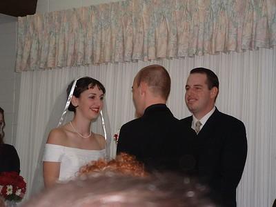 Addie and Travis' Wedding 11-6-04
