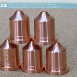 SKU: P-PMX-NOZZLE/220941, Plasma Consumable #220941 ≤45A Nozzles(5) Generic, Compatible with Hypertherm® Powermax® 65A/85A/105A System