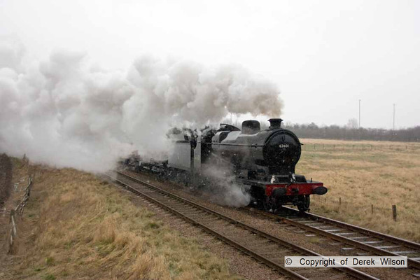 2009, 1st February, Great Central Railway winter steam gala