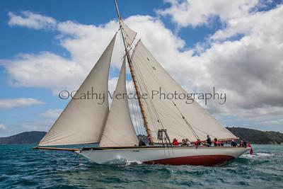2014 Mahurangi Classic Yachts Race NZ