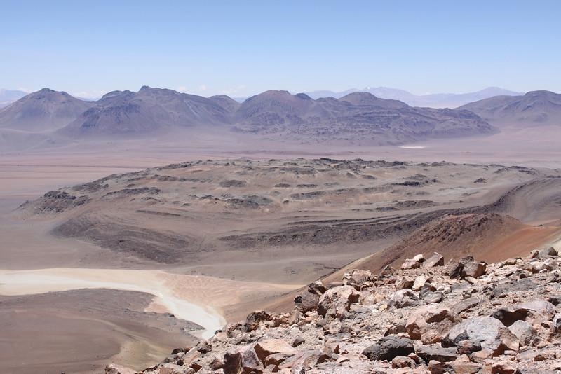 Bolivian side of Cerro Toco