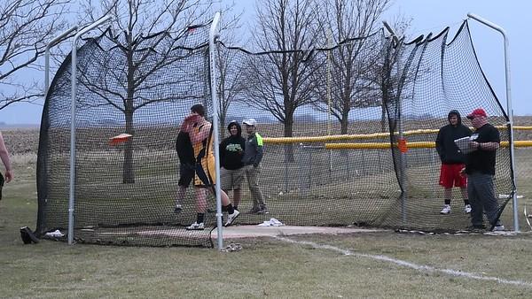 Boys Track at Garner