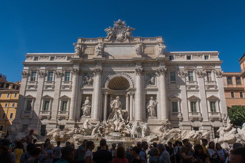Trevi Fountain - Rome - Italy (September 2018)