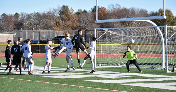 Mount Greylock loses to Belchertown in Western Mass. D-III boys soccer final - 111619
