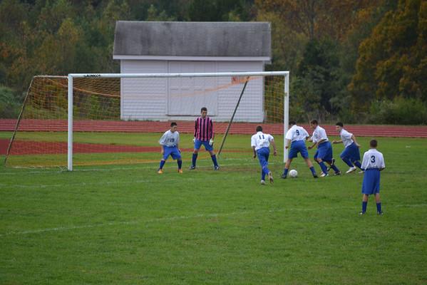 Soccer vs. St. Chris