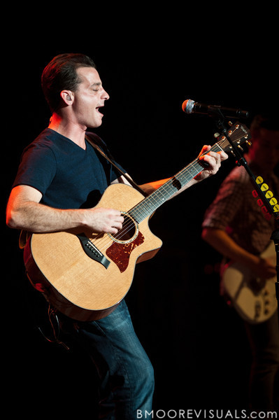Marc Roberge of O.A.R. performs at Ruth Eckerd Hall in Clearwater, Florida on Septermber 15, 2010.