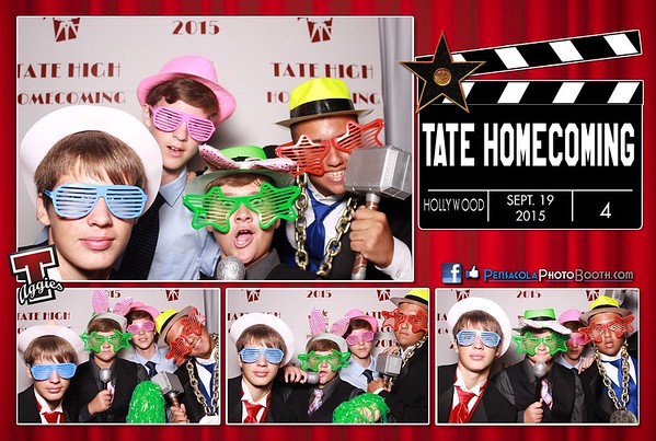 Tate High School Homecoming 9-19-2015