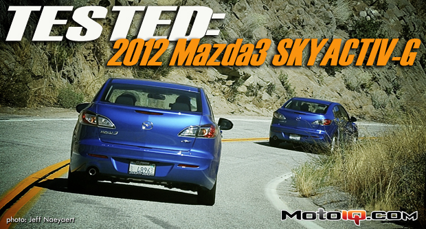 Tested: 2012 Mazda3 SKYACTIV-G