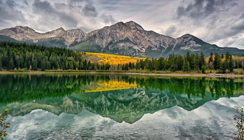 Fall at Patricia lake