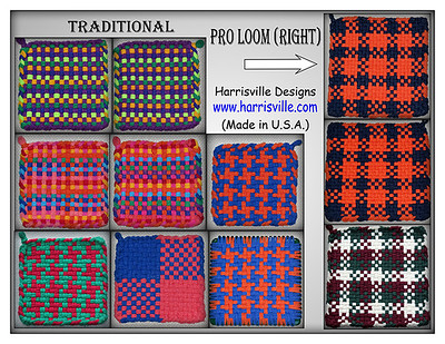 Potholders - Harrisville Designs