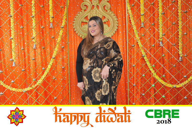 CBRE Diwali 2018- orange backdrop
