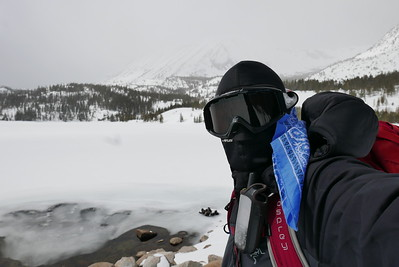 Little Lakes Valley Ski, March 2017