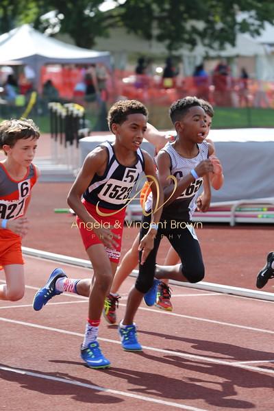 2017 AAU DistQual: 11 Boys 1500m