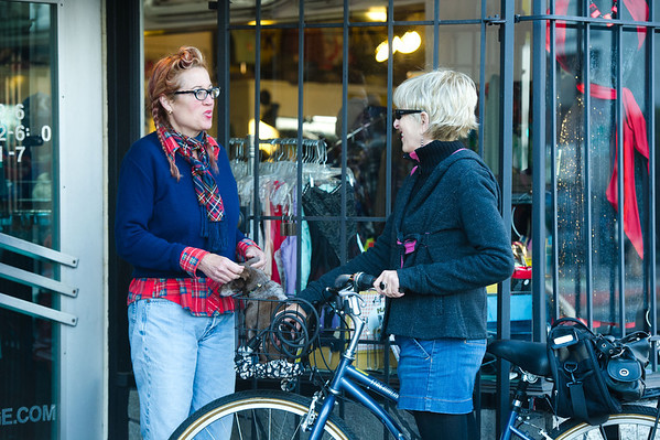 bike friendly business districts