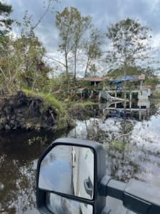 Hurricane Ida restoration at DEMCO