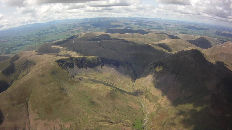 The superb Cautley Spout. Turn right ..... the way to go.