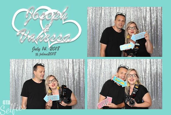 Vanessa and Joseph's Wedding Reception