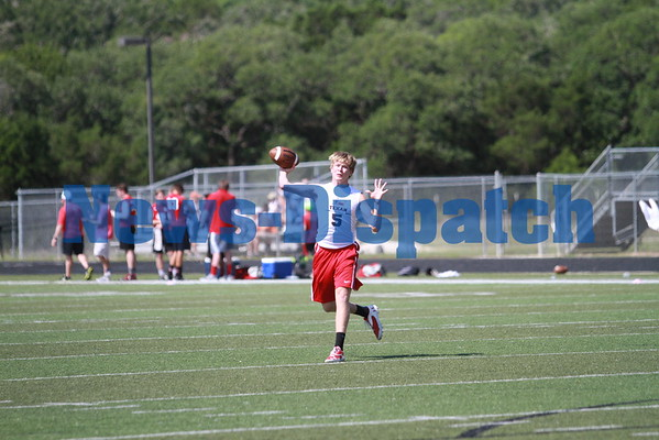 Wimberley football 7-on-7 state qualifying tournament