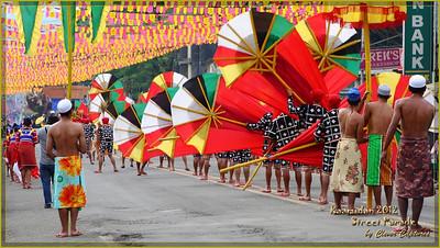 Kaamulan Street Parade 2012