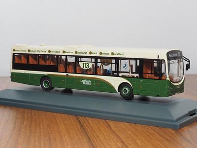 Corgi OOC OM46703A Lothian Buses (East Lothian) Volvo B7RLE Eclipse II route 113 to Pencaitland