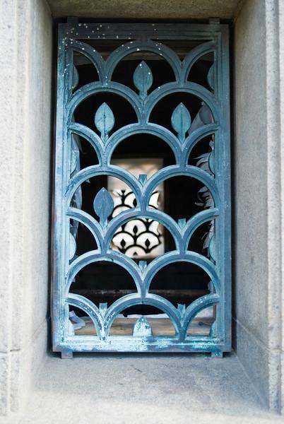 Empty Window - This is a window on the Longfellow Bridge.