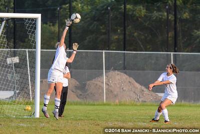 9-19-14 Michigan Women's Club Soccer Vs Hillsdale College