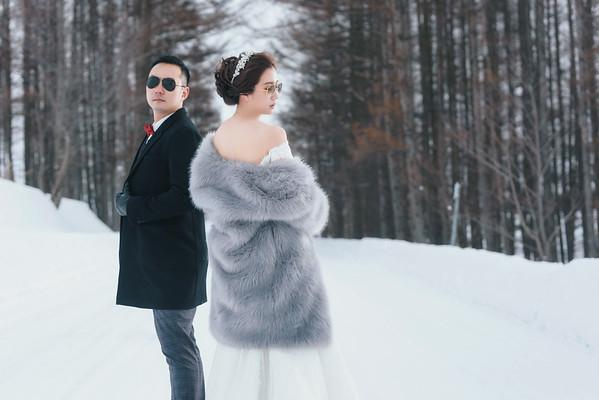 芊芊 Hokkaidio Pre-wedding