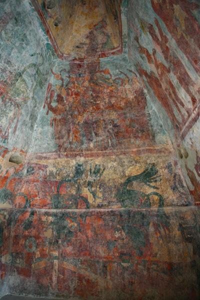 peintures mayas de Bonempack Chiapas / pinturas mayas de Bonempack Chiapas / Maya paintings of Bonempack Chiapas / Malereien Mayas von Bonempack Chiapas