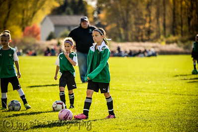 October 25, 2015 - PSC 07 Girls Green - Game