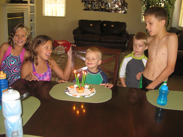 Carson's birthday July 2016